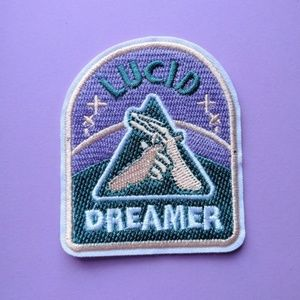 Lucid Dreamer Iron on Patch